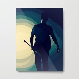 'cause we've been fighting lately... Metal Print