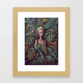 the Hideout Framed Art Print