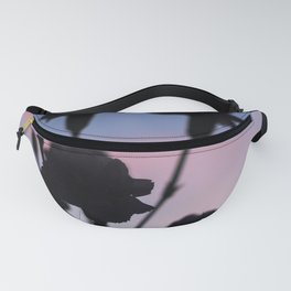 Silhouette Sunset Fanny Pack