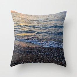 Sunset in Rhodes Throw Pillow