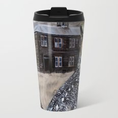 The Owl and the Schoolhouse Travel Mug