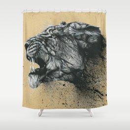 Hunger Shower Curtain