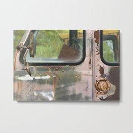UPS Truck Metal Print