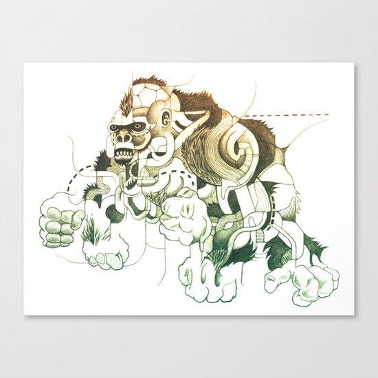 Gorilla gorilla gorilla! Canvas Print