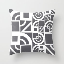 Bauhaus 39 Grey&White ed. Throw Pillow
