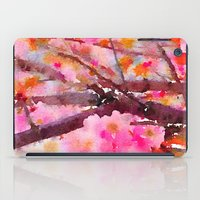 cherry blossom iPad Cases featuring cherry blossom by her art