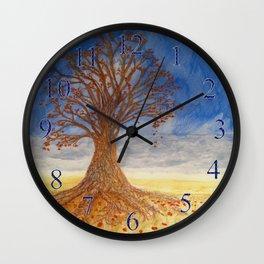 Autumn Kiss Wall Clock
