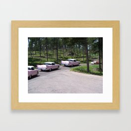 OUT numbered Framed Art Print