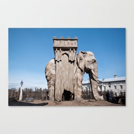 Elephant of the Bastille Canvas Print