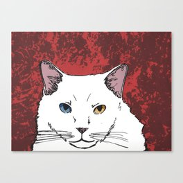 Lucky's Serigraphy Print Canvas Print