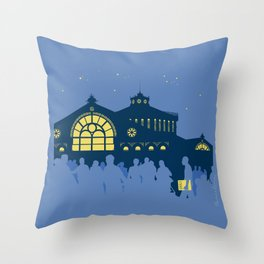 Sant Antoni, Barcelona Throw Pillow