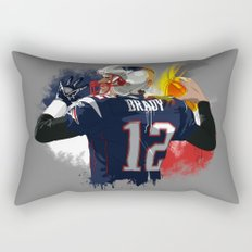 Tom Brady Rectangular Pillow