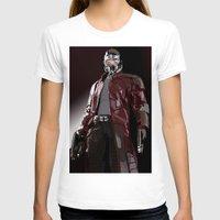 star lord T-shirts featuring Star Lord Fan Art by Vito Fabrizio Brugnola