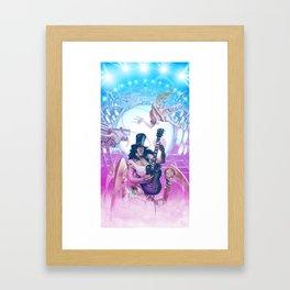 Post Apocalyptic Power Prog Framed Art Print