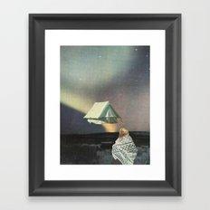 Tent Framed Art Print