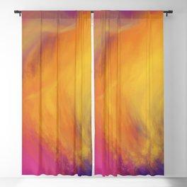 Abstract rainbow pattern Blackout Curtain