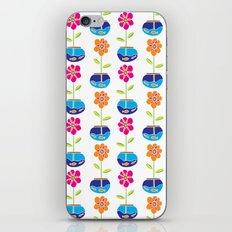 Fish Bowl Flowers iPhone & iPod Skin
