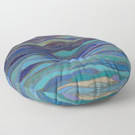 In Calm Waters Floor Pillow