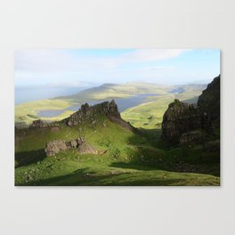Green Hills Scotland - Travel Photo Canvas Print