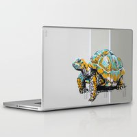 tortoise Laptop & iPad Skins featuring Tortoise by aceta