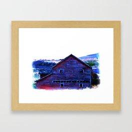 Barn 3 Framed Art Print