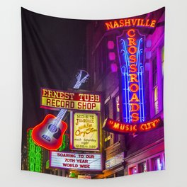 Music City Wall Tapestry