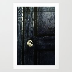 Doctor Who: Who has the Tardis key? Art Print