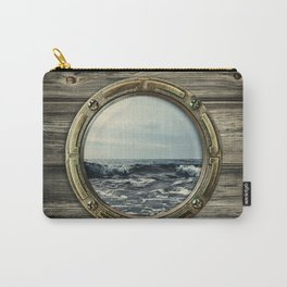 Window of boat Carry-All Pouch