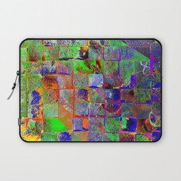 colorful woodwork Laptop Sleeve