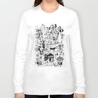 hong kong Long Sleeve T-shirts featuring HONG KONG CLUB by ALVAREZ