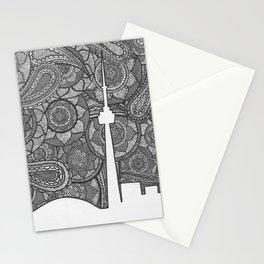 Toronto Skyline Stationery Cards