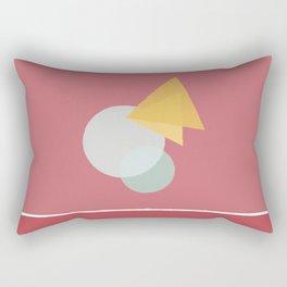 Circle&triangle Rectangular Pillow