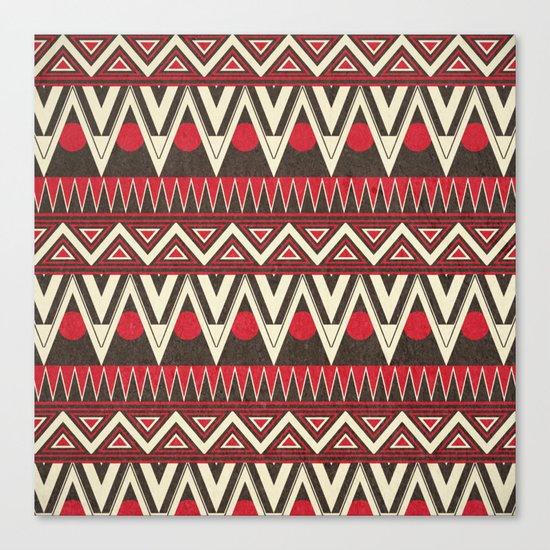 Tribal New World  Canvas Print