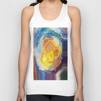 watercolour Tank Tops featuring WaterColour by MonsterBrown