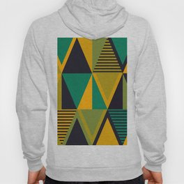 Green Triangles Hoody