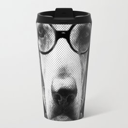 Mr Italian Bloodhound the Hipster Travel Mug