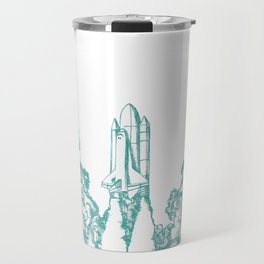 Launch Off // Teal Travel Mug
