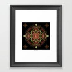 DMT Orb Framed Art Print
