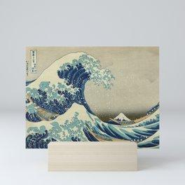 Ukiyo-e, Under the Wave off Kanagawa, Katsushika Hokusai Mini Art Print