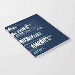 America Typographic Design Notebook
