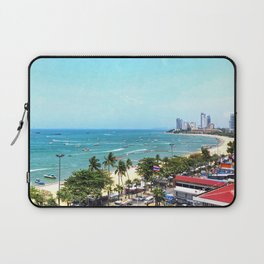 Beautiful Tropical Seascape of Thailand Laptop Sleeve