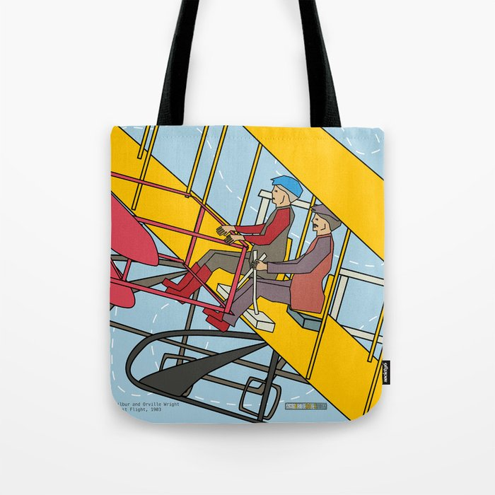 Wilbur and Orville Wright, 1903 Tote Bag