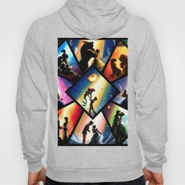 Magical silhouettes Hoody