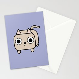 Cat Loaf - Cream Kitty Stationery Cards