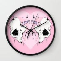 unicorn Wall Clocks featuring UNICORN *:・゚✧ by lOll3