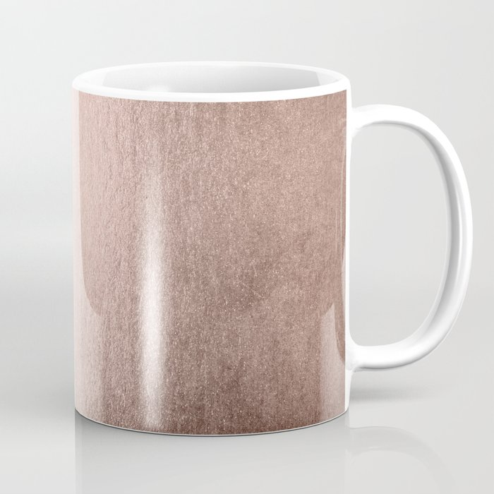 Moon Dust Rose Gold Coffee Mug