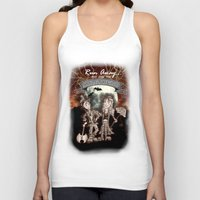 rock and roll Tank Tops featuring Rock 'N' Roll Circus by Melissa Morrison