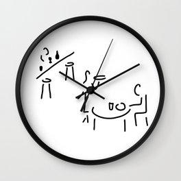 waiter restaurateur barkeeper Wall Clock