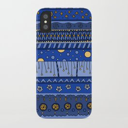 Yzor pattern 010 night iPhone Case
