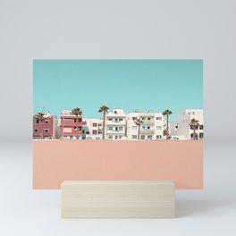 On the beach. Mini Art Print